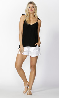 Womens Tops Online | Gisele Tie Strap Cami | SASS
