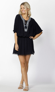 Women's Dress Online | Ivie Embroidered Kaftan | SASS
