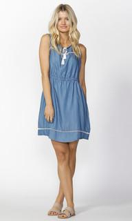 Ladies Dresses Online | Austin Denim Sundress | SASS