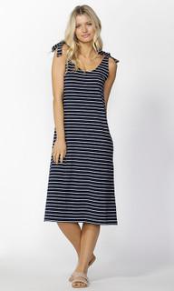 Ladies Dresses Online | Parker Tie Shoulder Dress | SASS
