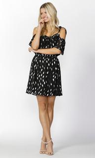 Ladies Dresses Online | Feather Foil Dress | SASS