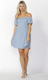 Ladies Dresses | Renata Shirred Bust Dress | SASS