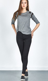 Women's Pants | Tanya X Black Wash Jeans | LTB