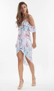 Women's Dresses | Orchid Bloom Midi Dress | AMELIUS
