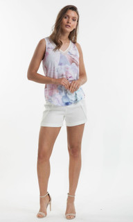 Women's Tops | Orchid Bloom Tank | AMELIUS