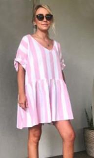 Women's Dresses Online | KL381 Dress in Pink | KIIK LUXE