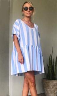 Women's Dresses Online | KL381 Dress in Blue | KIIK LUXE