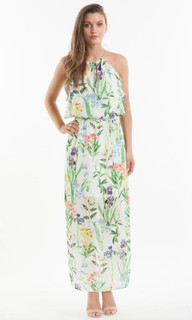 Women's Dresses | Living Garden Maxi Dress | AMELIUS