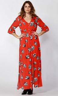 Women's Dresses Online | Winter Blooms Maxi Dress | SASS