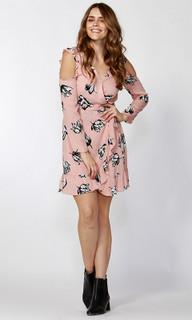 Women's Dresses Online | Winter Blooms Ruffle Dress | SASS