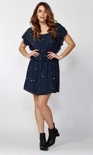 Women's Dresses Online | Celestial Stars Ruffle Dress | SASS