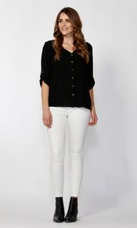 Ladies Tops Online | Jetta Criss-Cross Back Shirt | SASS