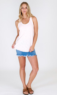 Women's Tops Online   Madison Tank in Blush   3RD STORY