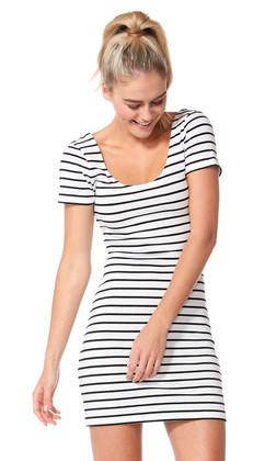 Ladies Dresses | Areatha Tee Dress | Betty Basics