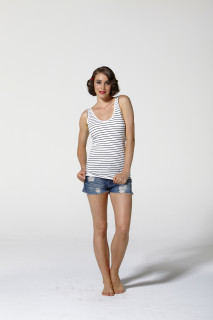 Women's Tops   Celine Scoop Tank   Betty Basics