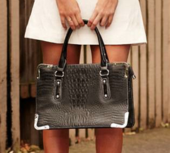 Shop Dec P 58 Faux-Croc Bag