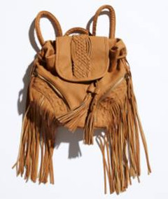 Good Weekend 17th November - Navajo Fringed Bag