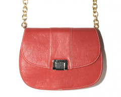 Good Weekend 1st December - Francoise Tangerine Bag