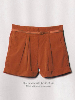 Shop December P138 - Tan Shorts