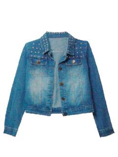Jackets For Women|Shop January P16 - Studded Denim Jacket