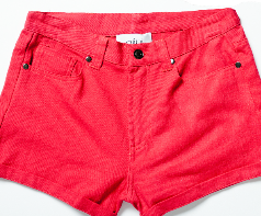 Who December - Red Shorts