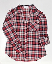 Cleo January  - Check Flannel Shirt