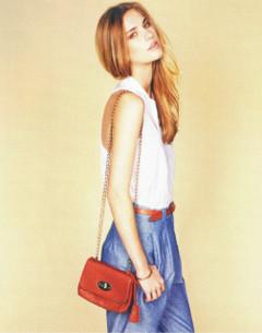 Shop Feb P37 - Camel Mini Satchel Bag