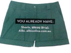 Shop Feb P52 - Black Shorts