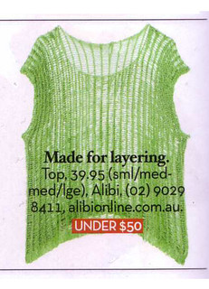 Women's Tops Australia,Knit Tank,Alibi