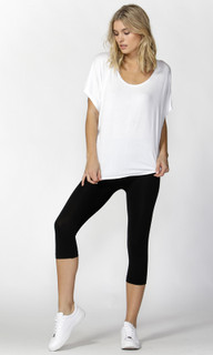 Women's Pants | Beyonce 3/4 Leggings |  BETTY BASICS