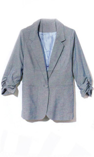 SHOP May P118 - Chambray Blazer