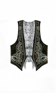 Shop May P128 - Jewelled Troubadour Vest