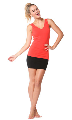 Women's Tops | Mia V-Neck Tank | BETTY BASICS