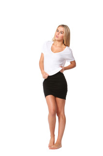 Women's Skirts Australia | Madrid Wrap Skirt | Betty Basics