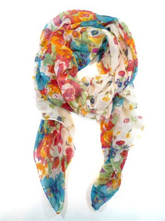 FA2026 - Spring Time Floral Scarf by FAB