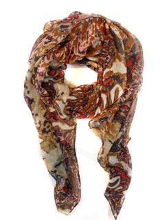 FA2099R - Animal Print Scarf by FAB