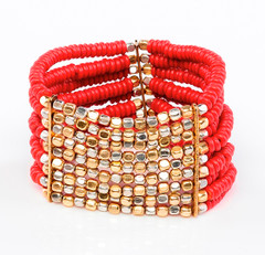 9 Strand Bracelet by FAB