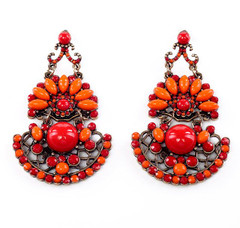FE2176 - Moroccan Statement Earring by FAB