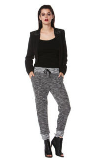 Women's Pants | Claudia Textured Pant | FATE