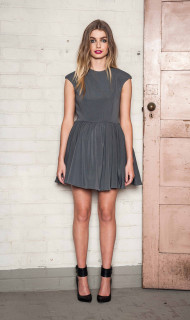 Ladies Dresses | Metro Fit and Flare Dress | BEBE