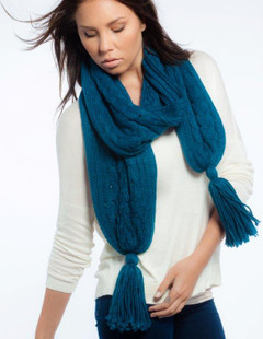 FA2288 - Cable Knit Scarf by FAB