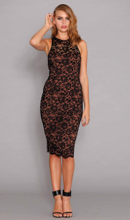 Ladies Dresses Online | Filigree Midi | PASDUCHAS