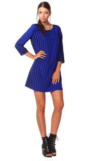 Ladies Dresses | Anika Stripe Dress | FATE