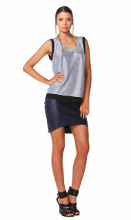 Women's Tops | Saleen Crinkle Tank | FATE