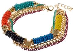 Women's Jewellery | CBM828 - Bracelet With Multi Rows | MAJIQUE