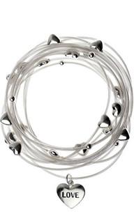 DBM117 - Bracelet With Multi Love Hearts | MAJIQUE
