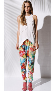Women's Pants | Festive Bloom Pant | BEBE