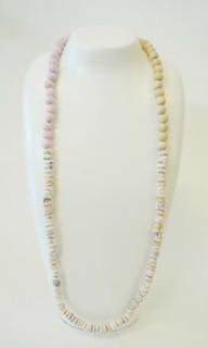 Women's Jewellery Online | FN2386 - Shell & Wooden Bead Necklace | FAB