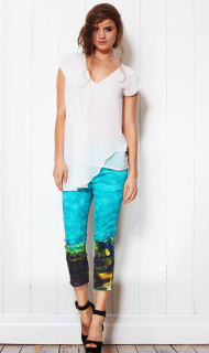 Ladies Pants | Ocean Path Capri | FATE