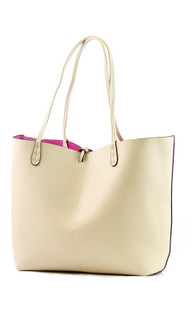 Women's Bags | Reversible Coloured Tote | TEA WITH LEMON